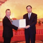 Managing Director of Case Construction Machinery Shanghai Receives White Magnolia Award