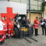 New Holland Construction Donates a Machine to the Italian Red Cross