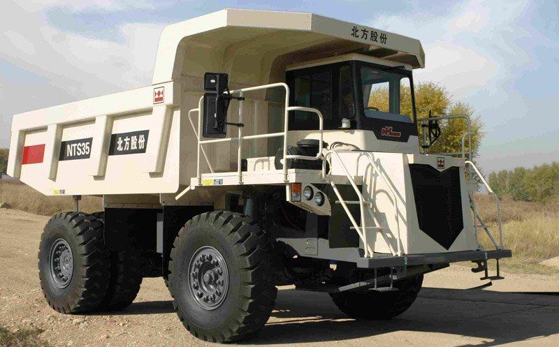 TEREX NTS35 Mining dump truck