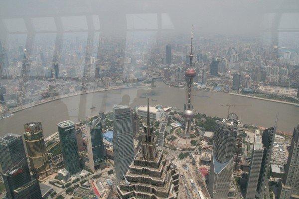 view from Shanghai World Financial Centre e1333048138408