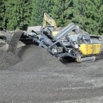 Latest RUBBLE MASTER product, the RM100 GO at the Nordbau 2012