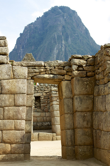 Granite Stone Machu Picchu : Machu picchu the 'lost city part stonework