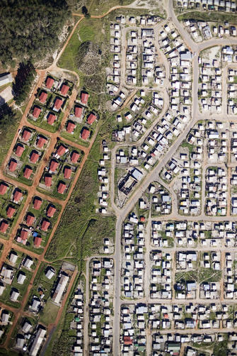 Cape Town low-cost housing suburb