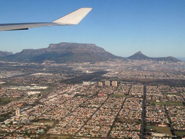 Capetown from the air