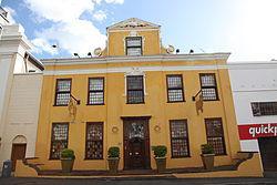 (Lutheran parsonage) Martin Melck House (ex Bloemfontaine House) Strand St