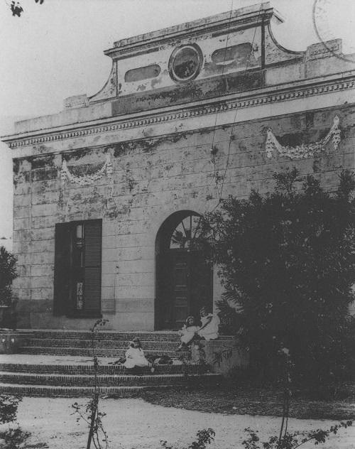 Vintage Photograph of Saasveld House: Anreith