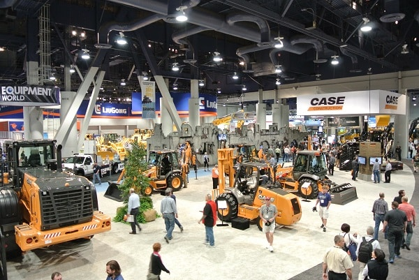 Exhibition Stand Builders Las Vegas : Case brought the next generation of fuel efficient