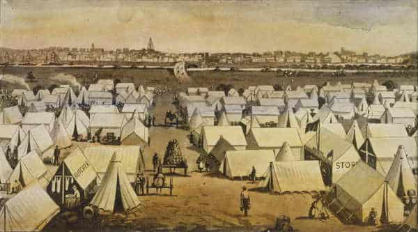 Tent City South Melbourne (1850s)