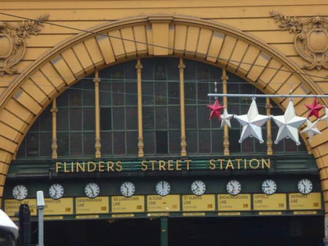 Flinders St Station – 'clocks' (2013)