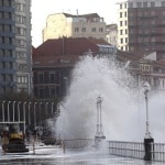 New Holland Machines at work in Storm battered Europe
