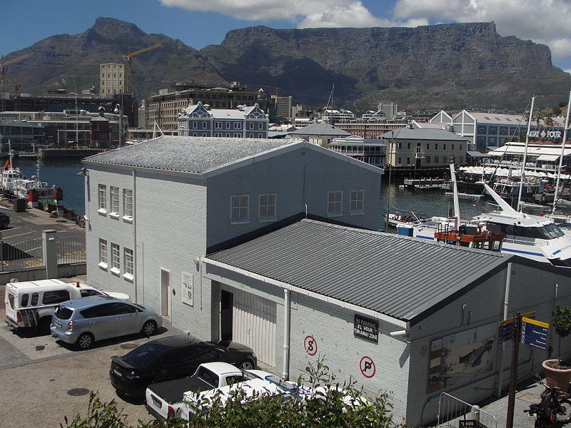 Robben Island Embarkation building