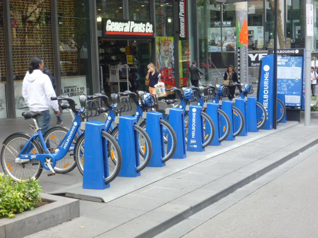 Bicycle Park – Swanston St