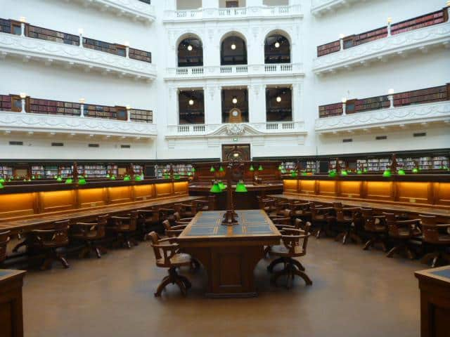 La Trobe Reading Room, State Library