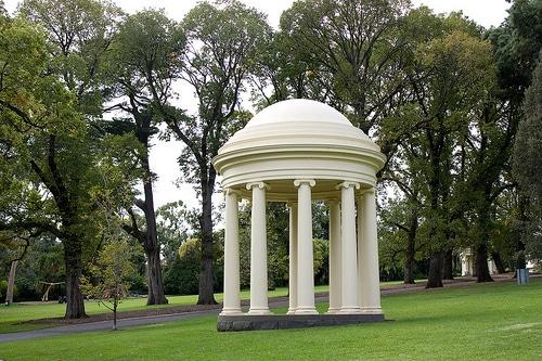Rotunda in Fitzroy Gardens