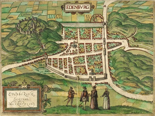 1581 Plan of Edinburgh