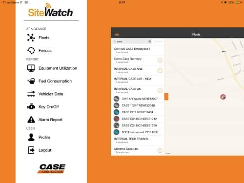 Site Watch at a glance