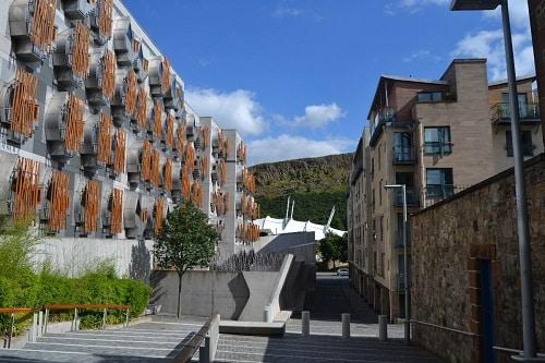 Scottish Parliament Edinburgh