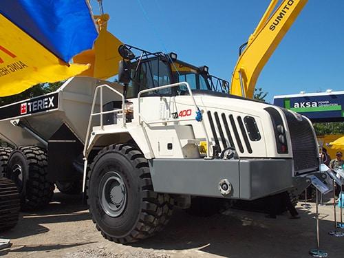 Terex Trucks TA400 Mining Myanmar 2014