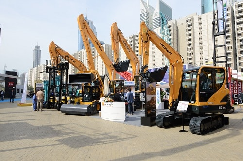 The Big 5 construction equipment