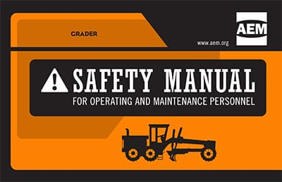 Updated AEM Grader Safety Manual