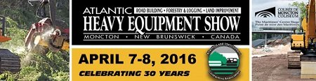 Heavy Equipment Show in Moncton