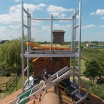 Aluminium Scaffold Towers_Chimney Access