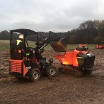 Kubota RT100 into Tracked carrier