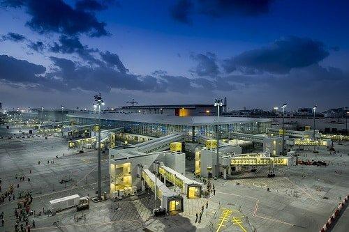 UAE_Airport. Dubai International Airport Concourse D