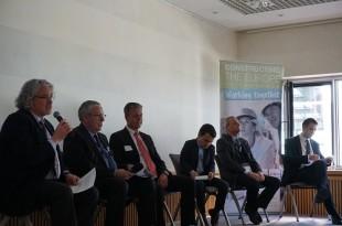 Panel discussion led by Sandy Guthrie: Bernd Holz, Erik Sjödin, Jean-Noël Onfield, Pedro J. Juan Boix and Christof Kemmann