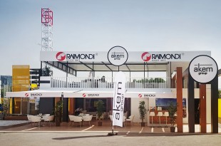 Raimondi Cranes agent AKEM Group at ANKOMAK 2016 in Istanbul