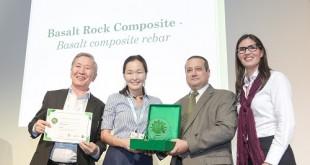 basalt rock composite