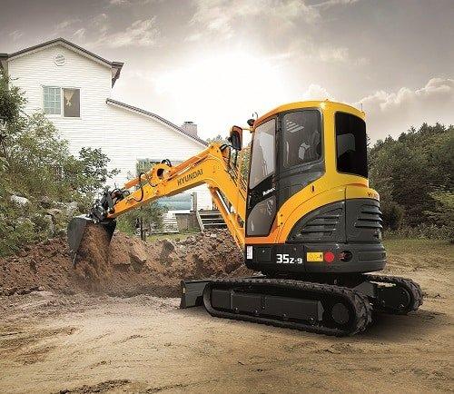 Hyundais R35Z 9 Compact Excavator