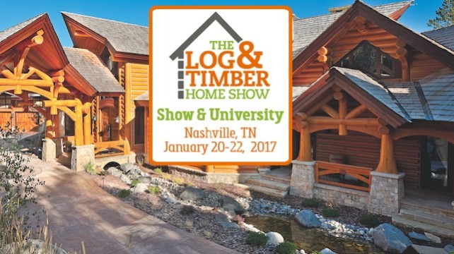 Upcoming Events The Log Timber Home Show 2017
