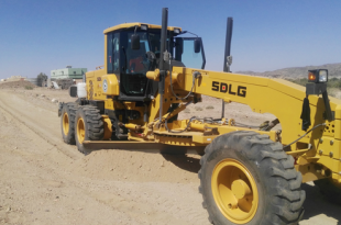 The SDLG G9220 motor grader ready for action.