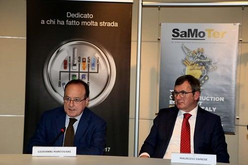 Giovanni Mantovani, CEO of Veronafiere S.p.A., Maurizio Danese, President of Veronafiere S.p.A.,