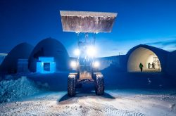 Volvo Transforms Winter Slumberland Into Year-Round Icehotel