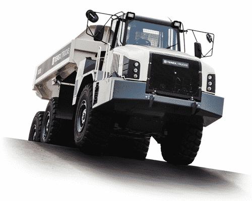Terex Trucks' Gen10 TA300 articulated hauler.