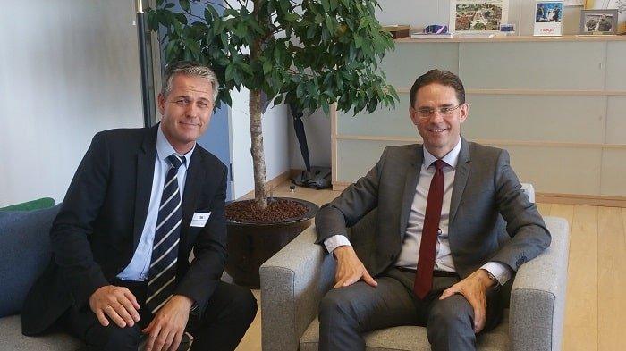 CECE Presse release CECE President meets Commissioner Katainen 2