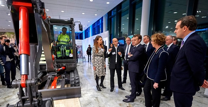 Swedish Prime Minister and French President Sign Strategic Partnership at Volvo Group Headquarters
