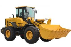 SDLG launches new compact wheel loaders at Excon 2017