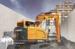 Hyundai Construction Equipment launches the brand-new HX130 LCR crawler excavator.
