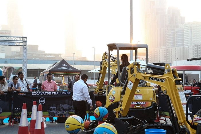 GCC Mega Builds construction event