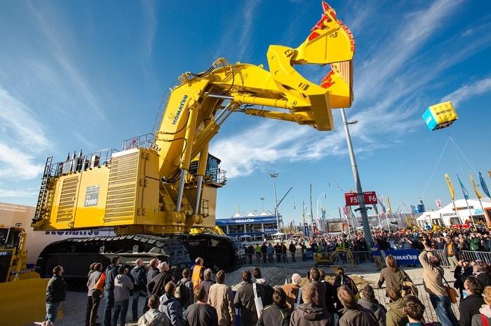 bauma construction machinery fair