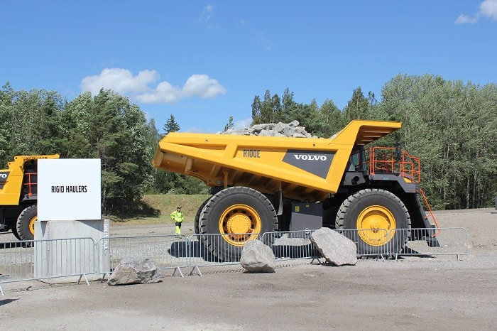 Volvo CE celebrates 60 years of live machinery demonstrations