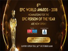 Construction Awards India 2018 | Nomination For The EPC Person Of The Year