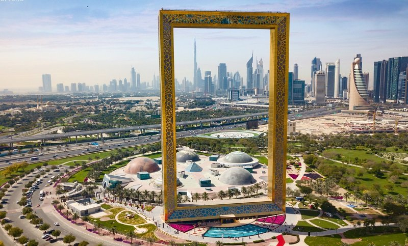 Dubai Frame is the UAE national winner in the Tourism and Leisure Project of the Year category