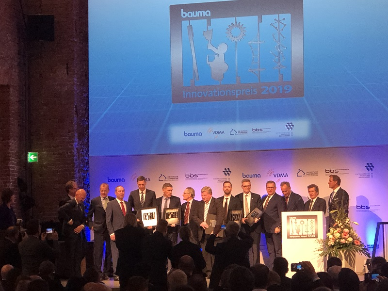bauma 2019 awards