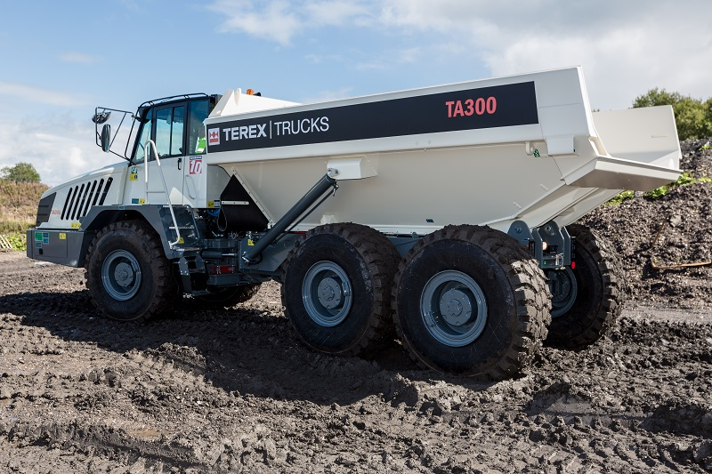Terex Trucks at Plantworx