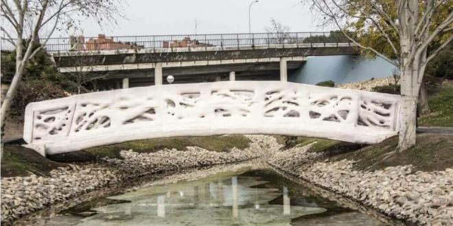 3-D Printing Bridge Spain