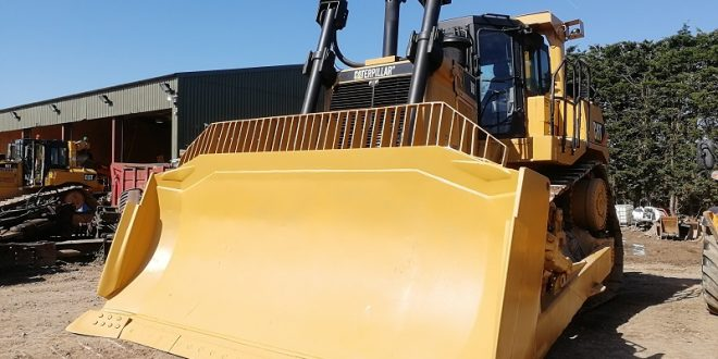 Recovered CAT D9